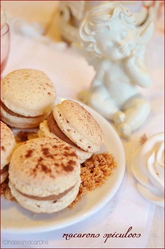macarons speculoos b2